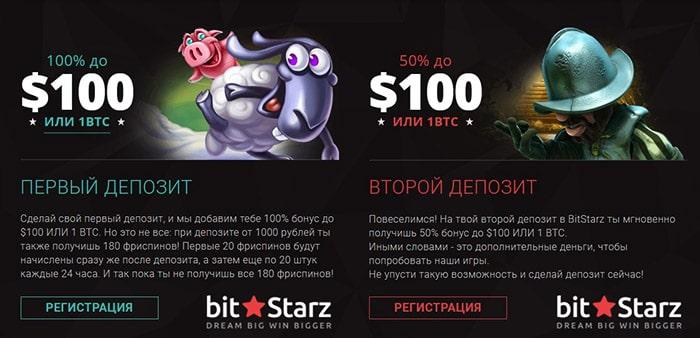 Бонусы Bitstarz casino - играй дольше и получи прибыль